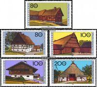 BRD (BR.Deutschland) 1819-1823 (kompl.Ausgabe) postfrisch 1995 Deutsche Bauernhä