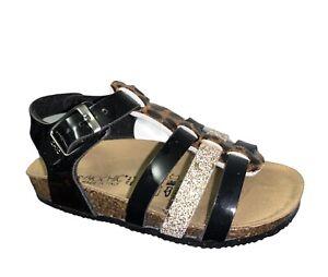 BIOCHIC 44168S Sandalen Schuhe Mädchen Bio Natürliche Italian Stil Getupft