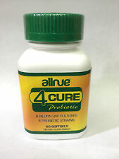 4 Cure Probiotic 60 softgels Probiotico Natural Sistema Inmunologico Parasitos