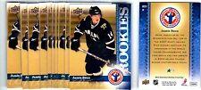 1X JAMIE BENN 2009-10 UD Hockey Card Day #HCD3 RC Rookie Bulk Lot Available