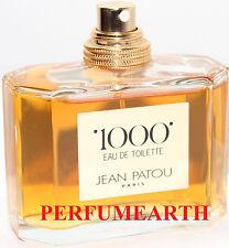 JEAN PATOU 1000 TESTER UNBOX 2.5 OZ EDT SPRAY FOR WOMEN BY JEAN PATOU (NO CAP)