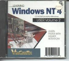 Learn Windows NT 4 Utente Volume 2 Nuovo & Sigillato