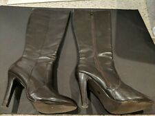 Knee Boots Worthington Womens Brown Size 6.5