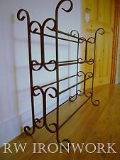 wrought iron shoe rack (handmade) 12 pairs metal