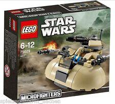 LEGO 75029 STAR WARS AAT Microfighter Droiden Armee Mini Universum Pilot Battle
