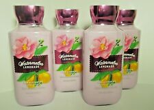 Bath Body Watermelon Lemonade Lotion x4