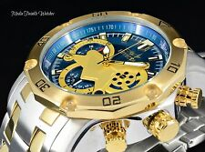 NEW Invicta 48mm ProDiver SCUBA 3.0 Quartz Chronograph 18k Two Tone Watch 22762
