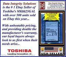"""*NEW* 80GB 1.8"""" IPOD 6TH GEN ZIF HARD DRIVE TOSHIBA MK8025GAL UPGRADES MK8022GAA"""