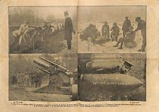 Collège Eton British Army Soldiers South Africa England UK WWI 1917 ILLUSTRATION