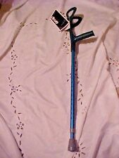 1 Forearm Walking Crutch Drive Medical 10412 BLUE PRE-OWNED NEVER USED WITH TAGS