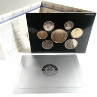 1992 RESERVE BANK OF NEW ZEALAND UNCIRCULATED COIN SET 7 COINS 25TH ANNIVERSARY