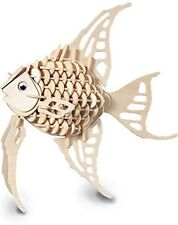 Angel Fish - QUAY Woodcraft Construction Kit Wooden 3D Model Kit H010 Age 7+