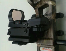 Green Red Dot Holographic Reflex Micro Sight W/Bracket For Archery Compund Bow
