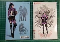 Punchline Special #1 (2020) 1:25 Jimenez Design & Frank Cho Variant Batman Joker