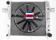 2481Aluminum Radiator For 2002-2006 Jeep Liberty V6 3.7L 2003 2004 2005 3Row+Fan