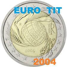 2 €    ITALIE   COMMEMORATIVE   2004    1  X  PIECE  NEUVE     /      Disponible