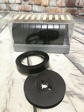 10 schwarze Filmrollen 8 mm leer für 15 m Durchmesser 7,5 cm Leerrollen mit Box