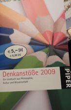 Denkanstöße 2009 von Lilo Göttermann, Piper Taschenbuch