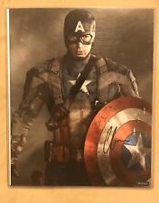 Chris Evans Signed Autograph