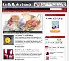 "Established ""Candle Making"" Niche Affiliate Website Business For Sale"