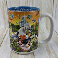 Walt Disney World 'DAD' 3D Coffee Cup Mug 'Four Parks One World' Monorail Mickey