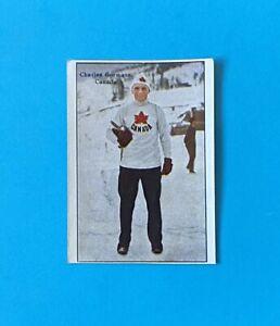 Olympics 1928 Speed Skating Charles Gorman Canada Greiling Card c.1928