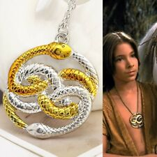 The Neverending Story Necklace Pendant Snake Auryn
