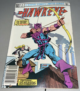 Hawkeye #1 Marvel Newsstand Variant 1st Solo Series