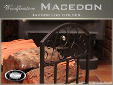 FIREWOOD RACK Indoor Log Rack / Storage WOOD HOLDER  FIREPLACE ACCESSORIES (Mac)