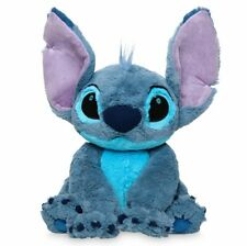 "NWT Disney Store Authentic Stitch Plush Doll Medium 15"" H Lilo & Stitch Toy"
