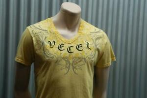 Ve'cel Vintage T-Shirt Yellow Chester Bennington Linkin Park Vecel XXL