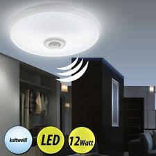 LED Decken Lampe mit Bewegungsmelder Sensor Bad Tageslicht Treppenhaus Leuchte