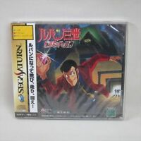Lupin The 3rd The Sage of Pyramid Brand NEW Sega Saturn JAPAN Video Game ss