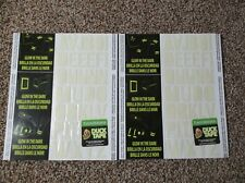 2* SHEETS GLOW IN THE DARK DUCK TAPE ALPHABET 36 LETTERS X 2 PERMANENT USA MADE