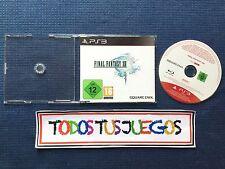 Final Fantasy XIII Playstation 3 Version PROMO EXCELENTE CONDICION RARO RARE