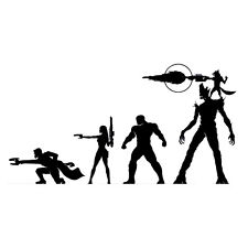Guardians Of The Galaxy Vinyl Decal Sticker for Macbook Laptop Car Window B