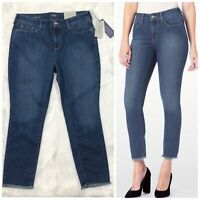 NYDJ Not Your Daughter Jeans Alina Skinny Ankle Legging Woman Size 14 High Rise