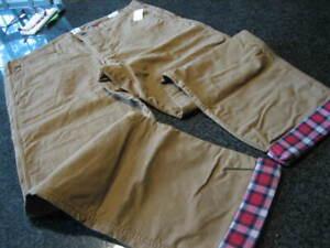 Nwot Gap Slim Fit Khaki Pant Mens Size 36 X 32 Stone Flat Front Y13