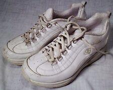 Skechers Weiß Shape Ups Schuhe Größe 7 Sn 12321