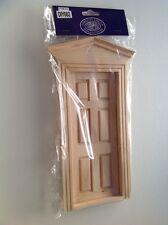 DIY002 External Dolls House Door, Dolls House Miniature