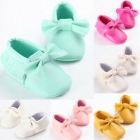 Toddler Kid Baby Girls Cute Toddler First Walk Winter Bow Knot Fringe Shoes