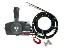 Tohatsu Outboard Remote Control Power Trim Electric Start & Key Cables Harnesses