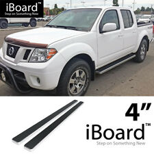 """iBoard Running Board 4"""" Fit Nissan Frontier/Equator Crew Cab 05-17"""