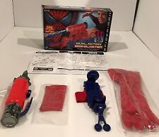 SPIDERMAN DUAL ACTION WEB BLASTER - COMPLETE TOYBIZ