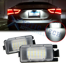 OEM White LED License Plate Light Direct Fit Nissan 350Z GTR Infiniti G35 G37