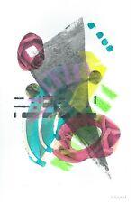 05662 - Barbara BERGER - Acryl Mischtechnik auf Papier - Original - 20x30