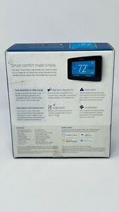 Emerson Sensi Touch Wi-Fi Smart Thermostat ST75 with Touchscreen Color Black