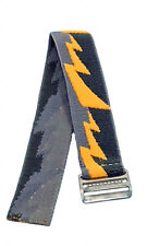 Timex Youth | Easy-Adjustable Elastic Watch Strap 18mm | Yellow Bolt Design