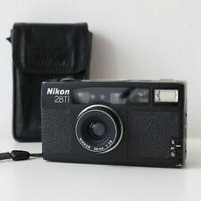 Nikon 28Ti Black Compact Point & Shoot 35mm Film Camera (w/ Strap and Case)