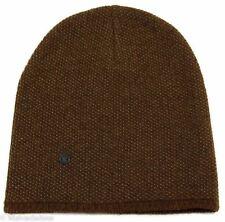 NWT GUCCI 352350 Men's XL Beanie Ski Hat, Light Brown/Beige